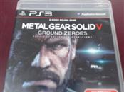 SONY PS3 METAL GEAR SOLID V GROUND ZEROES
